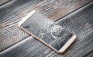 En trasig iPhone